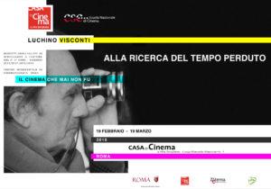 Luchino Visconti e Proust, una mostra alla casa del Cinema