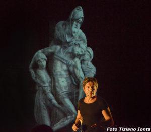 """Carlo Vanoni in """"Michelangelo"""" uno spettacolo rock sull'arte, regia di Gian Marco Montesano"""