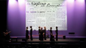 """""""Il fronte delle donne"""", al Vascello Lucilla Galeazzi racconta la vita di chi è scomparso dalla storia"""