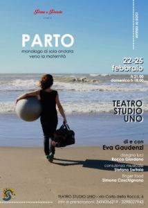 """Allo Studio Uno arriva """"Parto monologo di sola andata verso la maternità"""" di Eva Gaudenzi"""