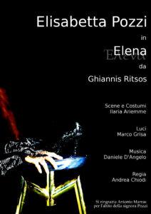 """Elisabetta Pozzi all'OffOff Theatre con """"Elena"""" di Ghiannis Ritsos"""