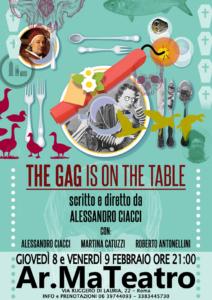 """The GAG is on the table"" al Teatro Ar.Ma di Roma"