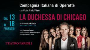 """""""La duchessa di Chicago"""", al Parioli un'ondata di allegria con la Compagnia Italiana di Operette"""