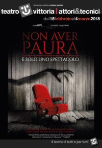 """""""Non aver paura"""" Eduardo Aldàn al Teatro Vittoria di Roma arriva il puro terrore"""