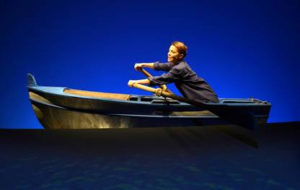 """Gaia Aprea in scena con """"D'estate con la barca"""" di Giuseppe Patroni Griffi, regia di Luca De Fusco"""