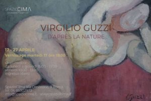 """""""D'Après la nature"""" la personale di Virgilio Guzzi alla Galleria SpazioCima"""