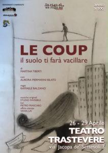 """""""Le coup"""", l'omaggio a Philippe Petit al Teatro Trastevere"""