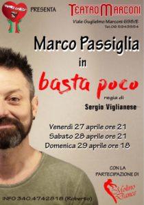 Al Teatro Marconi arriva la travolgente ironia di Marco Passiglia