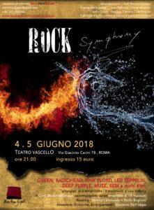 Il rock diventa Symphony, al Vascello di Roma i grandi brani diventano orchestrali
