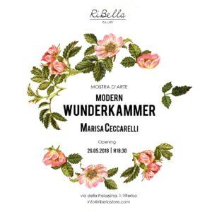 """""""Modern Wunderkammer"""", la magia di Marisa Ceccarelli alla RiBella Gallery"""
