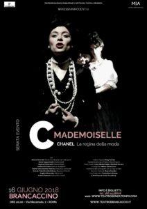 'MADEMOISELLE C.' Chanel la regina della moda @ Teatro Brancaccino | Roma | Lazio | Italia