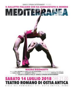 MEDITERRANEA di Mauro Bigonzetti al Teatro Romano di Ostia Antica il 14 luglio