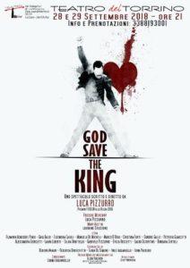 "Si parte al Teatro del Torrino con Luca Pizzurro in ""God save the king"""