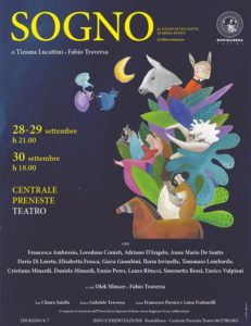 """""""Sogno"""" di Tiziana Lucattini e Fabio Traversa, un progetto su Shakespeare al Centrale Preneste Teatro"""