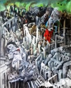 """""""Terra vita"""", la mostra di Carlo Torrisi negli spazi di Porta Mazzini"""
