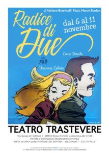 """Radice di due"", una storia delicata ed elegante al Teatro Trastevere"