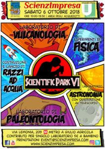 Scientific Park, la scienza per tutti all'aperto