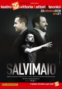 """Andrea Scanzi torna sul palco del Teatro Vittoria con """"Salvimaio"""""""