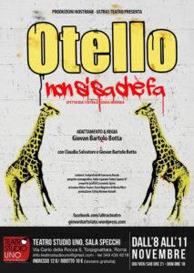 """""""Otello non si sa che fa"""", allo Studio Uno Giovan Bartolo Botta rilegge un classico"""
