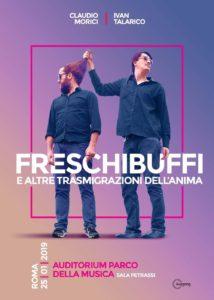 """""""Freschibuffi"""", il nuovo reading con canzoni di Claudio Morici e Ivan Talarico"""