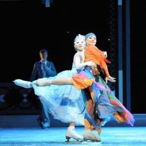 "The Imperial Ice Stars, le stelle del pattinaggio a Roma con ""Cenerentola On Ice"""