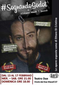#sognandoGodot di e con Alessandro Calamunci Manitta ed Emanuele Guzzardi