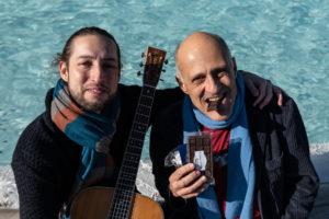 """Paolo Triestino e Giovanni Baglioni insieme a teatro con """"Note di cioccolata"""""""