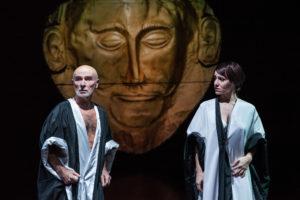 """all'OffOff Theatre """"Agamemnon"""" di Ghiannis Ritsos con la regia di Enrico Frattaroli"""