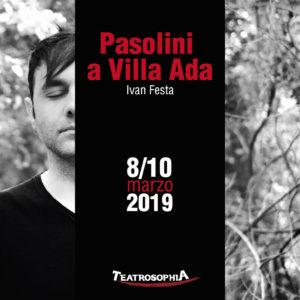 Pasolini a Villa Ada, il monologo di Giorgio Manacorda al Teatrosophia di Roma