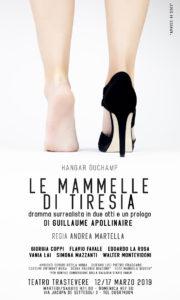 Al Trastevere di Roma va in scena il dramma surrealista in due atti e un Prologo di Guillaume Apollinaire
