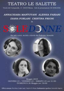 SoleDonne, sei atti unici a Le Salette