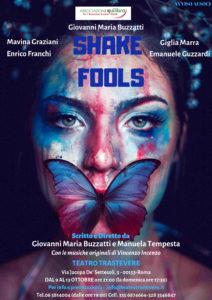 """""""Shake fools"""", i personaggi del Bardo come non li avete mai visti al Teatro Trastevere"""